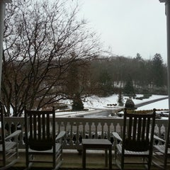 Photo taken at The Front Porch at The Homestead by Candice on 12/14/2013