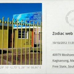 Photo taken at Zodiac Websurf & Computer Repairs by Omphile M. on 10/15/2012