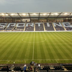 Photo taken at Sporting Park by Kevin on 7/4/2013