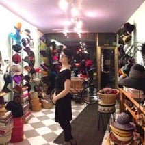 Photo taken at The Hat Shop by Ken K. on 12/19/2012