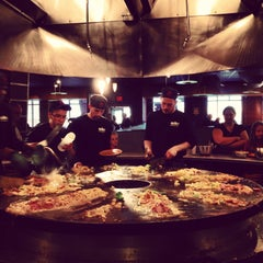 Photo taken at HuHot Mongolian Grill by Nicole K. on 4/21/2013