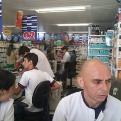 Photo taken at Farmácia Pague Menos by Marcio R. on 2/4/2013