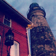 Photo taken at Fairport Harbor Marine Museum and Lighthouse by Angela M. on 9/29/2012