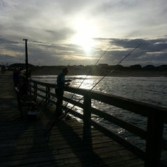 Photo taken at Avon Fishing Pier by Nicole S. on 7/22/2014