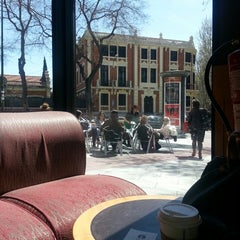 Photo taken at Starbucks Coffee by María D. on 4/13/2013