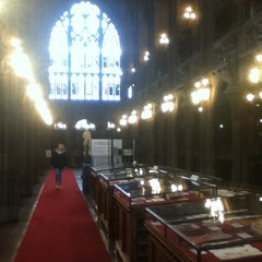 Photo taken at The John Rylands Library by Jan-Philip K. on 5/20/2013