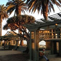 Photo taken at Pergola @ Palisades Park by Phil B. on 3/11/2013