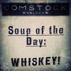 Photo taken at Comstock Saloon by Gibster on 9/5/2013
