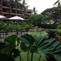 Photo taken at Sheraton Kauai Resort by Stuart C. on 10/27/2012