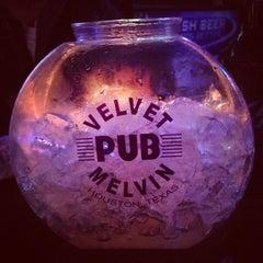 Photo taken at Velvet Melvin Pub by Johnny L. on 12/13/2013
