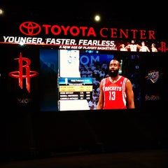Photo taken at Toyota Center by Johnny L. on 4/25/2013