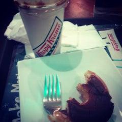 Photo taken at Krispy Kreme by donald B. on 11/27/2014