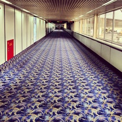 Photo taken at Bahrain International Airport (BAH) | مطار البحرين الدولي by Saud A. on 4/5/2013