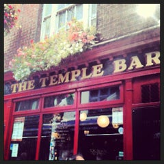 Photo taken at The Temple Bar by Christian C. on 8/14/2013
