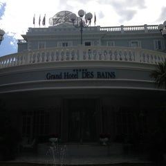 Photo taken at Grand Hotel Des Bains by Pier Luca S. on 9/17/2013
