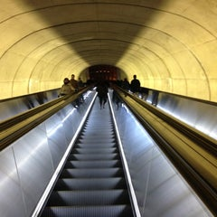 Photo taken at Dupont Circle by Justin L. on 1/4/2013
