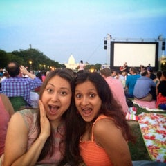 Photo taken at Screen on the Green by Lindsey F. on 7/22/2014