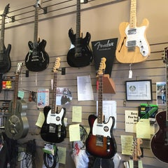 Photo taken at The Guitar Shoppe by Bill W. on 10/15/2015