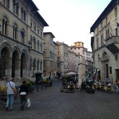 Photo taken at Piazza Giacomo Matteotti by Stefano C. on 8/24/2013