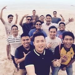 Photo taken at Pantai Seri Cahaya Port Dickson by 小宮 裕. on 4/24/2015