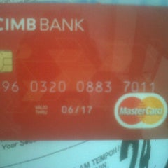 Photo taken at CIMB Bank by Azrul A. on 11/1/2012