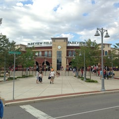 Photo taken at Parkview Field by Ken O. on 8/3/2013