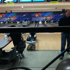 Photo taken at Brunswick Zone - Lowell by Timothy D. on 1/12/2013
