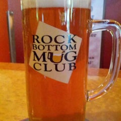 Photo taken at Rock Bottom Restaurant & Brewery by PJ M. on 4/26/2013