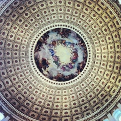 Photo taken at Rotunda of the U.S. Capitol by Felipe B. on 3/12/2013
