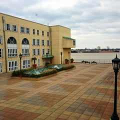 Photo taken at Hilton New Orleans Riverside by Ken D. on 3/2/2013