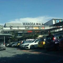 Photo taken at Wangsa Walk Mall by Syazwan M. on 5/20/2013