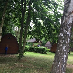 Photo taken at Thetford Forest Camping and Caravanning Club Site by Nic B. on 7/12/2015