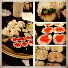 Photo taken at Ajisai Sushi Bar by David D. on 11/21/2012