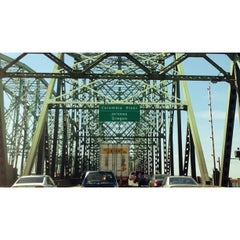Photo taken at Interstate Bridge by David D. on 5/12/2013