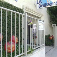 Photo taken at LA Balloons by Gail F. on 10/10/2012