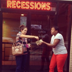 Photo taken at Recessions by Jordyn M. on 10/1/2013