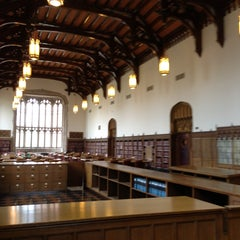 Photo taken at Bizzell Memorial Library by Beau M. on 4/16/2013