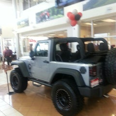 Photo taken at Nyle Maxwell Chrysler Dodge Jeep Ram Supercenter by Juan Carlos S. on 6/11/2013