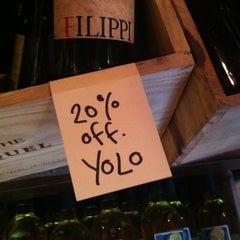 Photo taken at Bottle Shoppe by Alicia W. on 2/3/2013