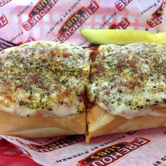 Photo taken at Firehouse Subs by Troy D. on 10/23/2012