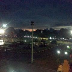 Photo taken at Alun-Alun Kota Serang by Lia R. on 4/16/2013