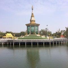 Photo taken at วัดป่ากุง (วัดประชาคมวนาราม) by กานต์ ต. on 1/19/2014