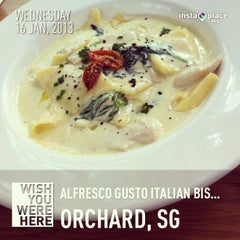 Photo taken at Alfresco Gusto Italian Bistro by TS S. on 1/16/2013