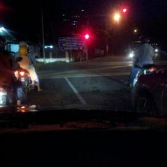 Photo taken at Bayan Lepas Intersection by adib z. on 1/9/2013