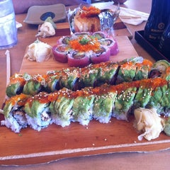 Photo taken at Sushi House by Krystle M. on 12/10/2012