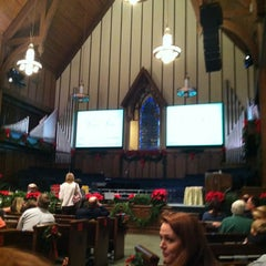 Photo taken at First Baptist Church Decatur by Josh B. on 12/2/2012