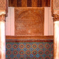 Photo taken at Saadian Tombs | قبور السعديين by Ray O. on 6/27/2015