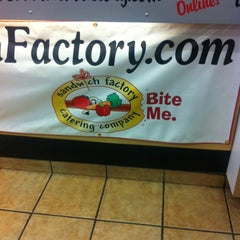 Photo taken at The Sandwich Factory by Dana C. on 4/1/2013