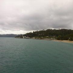 Photo taken at Hamilton Island by Tom F. on 5/8/2013