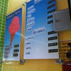Photo taken at Helados QBE by David Q. on 10/6/2012